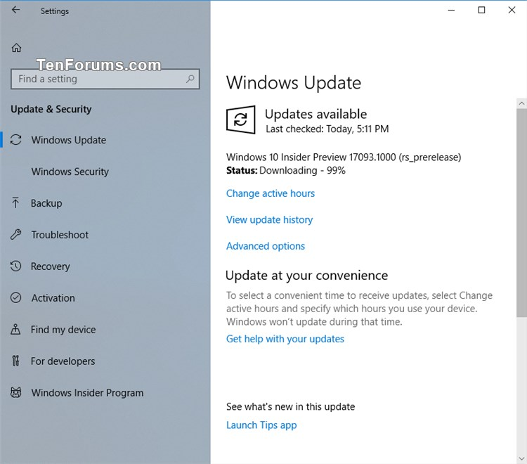 Click image for larger version.  Name:Windows_10_build_17093.jpg Views:399 Size:64.8 KB ID:176043
