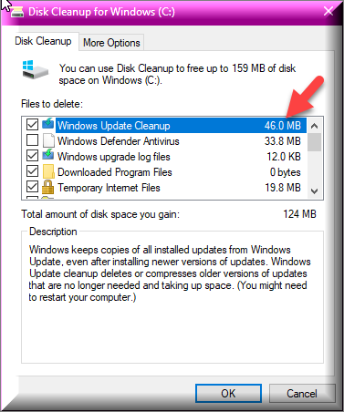 Click image for larger version.  Name:46.0 MB Still Around In Disk Cleanup.png Views:70 Size:27.9 KB ID:179343