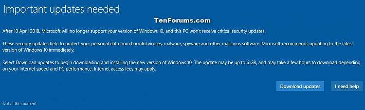 update windows 10 version 1511 to 1607