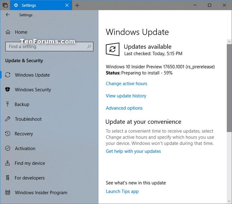 Announcing Windows 10 Insider Preview Skip Ahead Build 17650 - Apr. 19-w10_build_17650.jpg