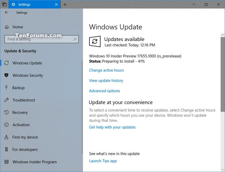 Announcing Windows 10 Insider Preview Skip Ahead Build 17655 - Apr. 25-w10_build_17655.jpg