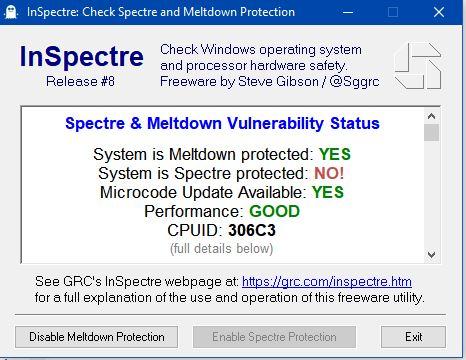 B4 - Windows 10 Microcode updates KB4090007 - Meltdown & Spectre.JPG