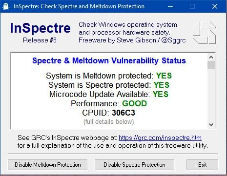 Click image for larger version.  Name:AFTER  - Windows 10 Microcode updates KB4090007 - Meltdown & Spectre.JPG Views:49 Size:53.6 KB ID:186342