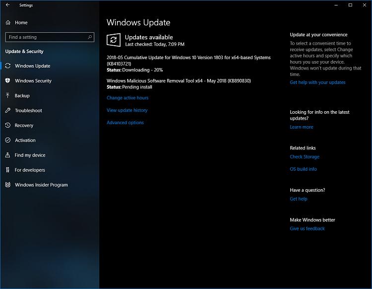 Cumulative Update KB4103721 Windows 10 v1803 Build 17134.48 - May 8-cu.png