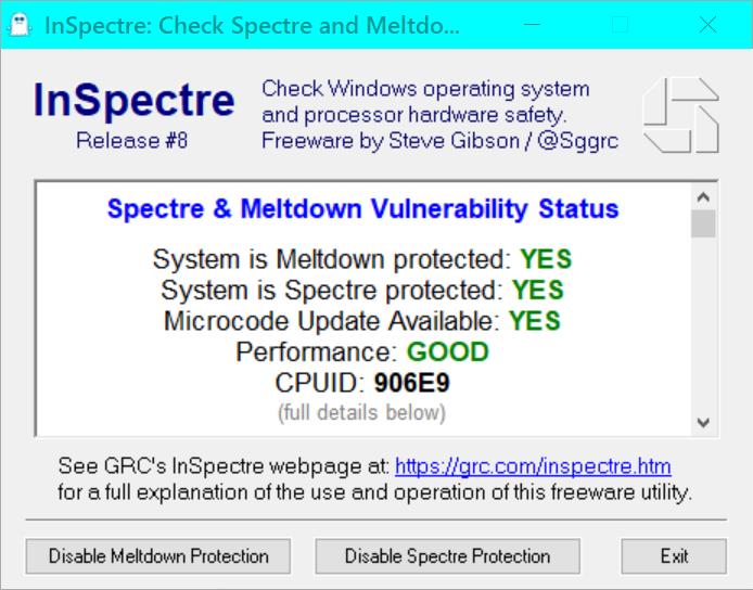 KB4100347 Intel microcode updates for Windows 10 v1803