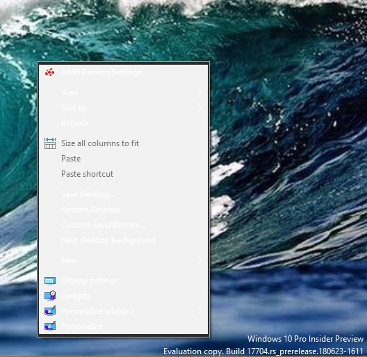 New Windows 10 Insider Preview Fast & Skip Ahead Build 17704 - June 27-context-menu.jpg