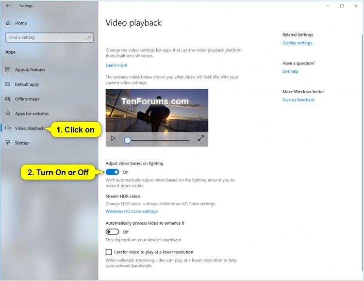 New Windows 10 Insider Preview Fast & Skip Ahead Build 17704 - June 27-windows_10_adjust_video_based_on_lighting.jpg