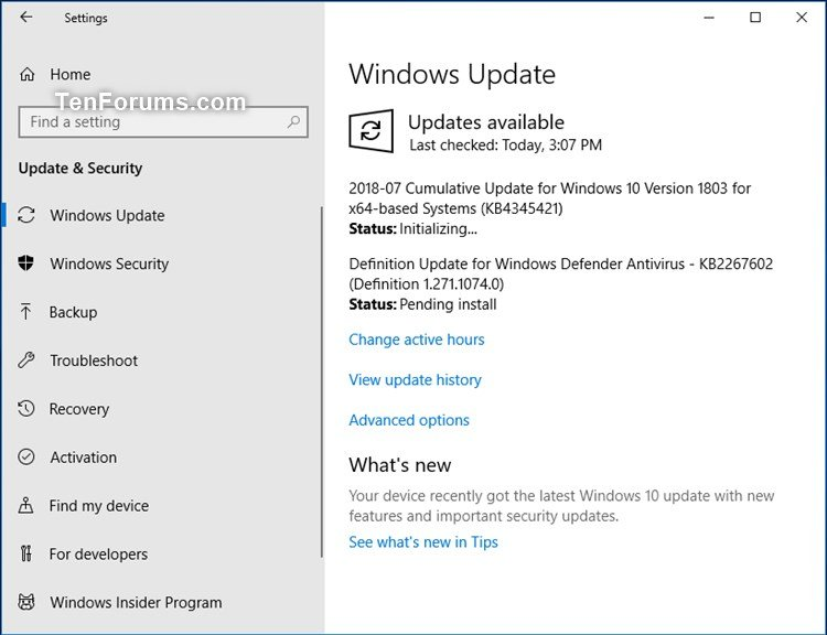 Cumulative Update KB4345421 Windows 10 v1803 Build 17134.167 - July 16-kb4345421.jpg