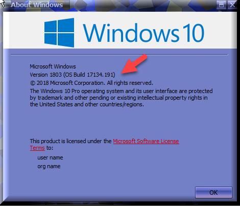 windows 10 cumulative update july 2018
