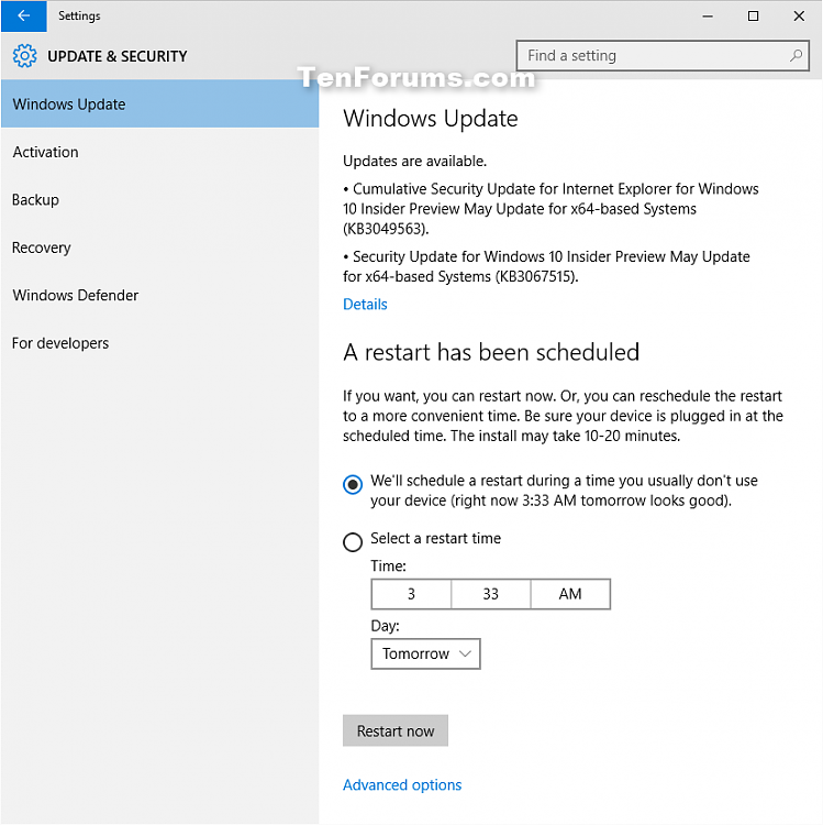 New Security Updates KB3049563 and KB3067515 for Windows 10-kb3067515.png