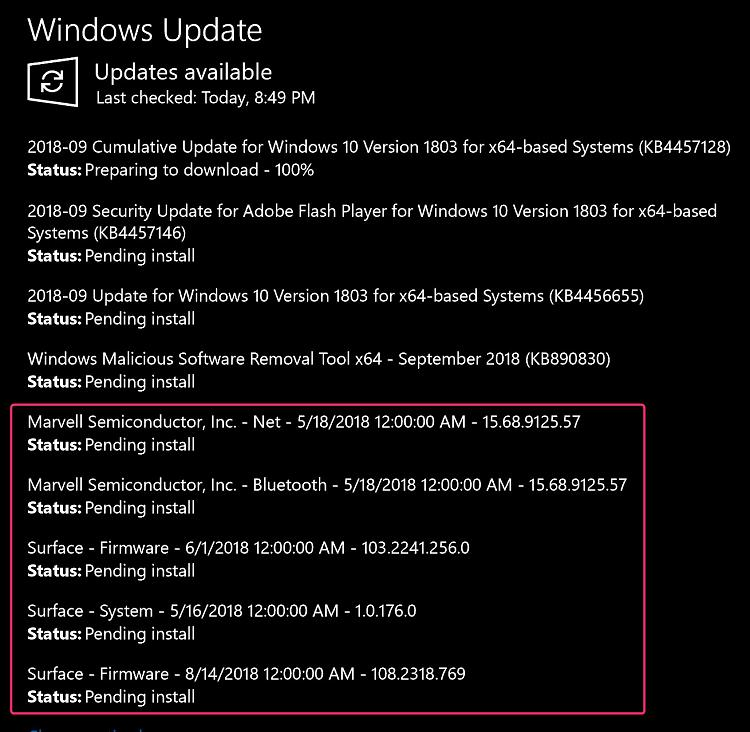 Surface Pro Firmware Update Tool