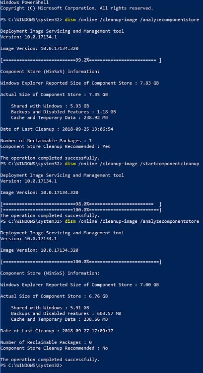 Cumulative Update KB4458469 Windows 10 v1803 Build 17134 320