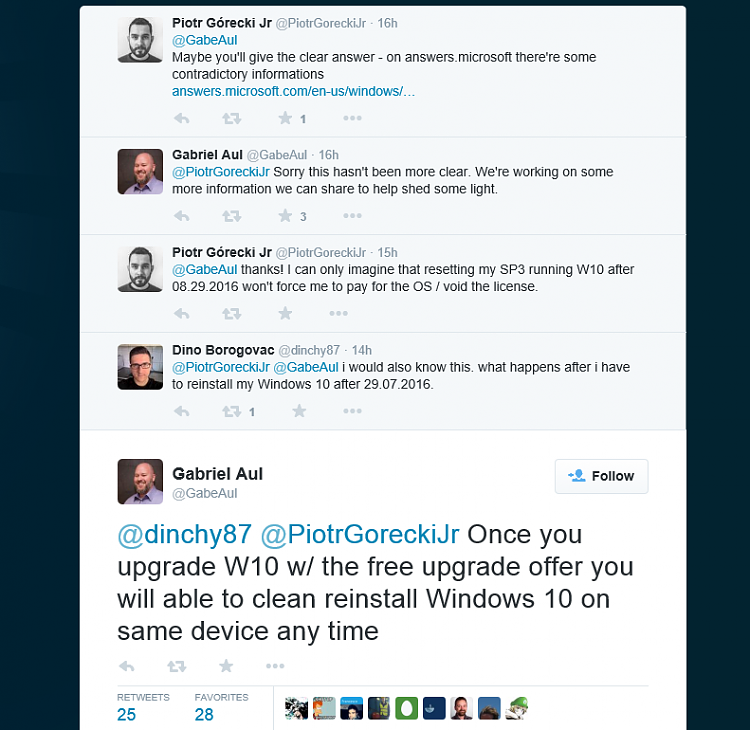The Free Windows 10 Will Support Unlimited Clean Installs-tweet-capture.png