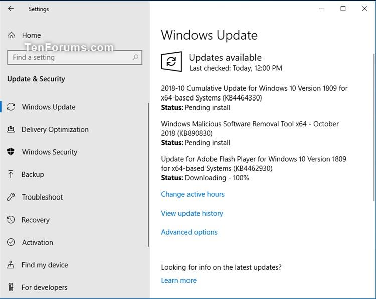 Cumulative Update KB4464330 Windows 10 v1809 Build 17763.55 - Oct. 9-kb4464330.jpg