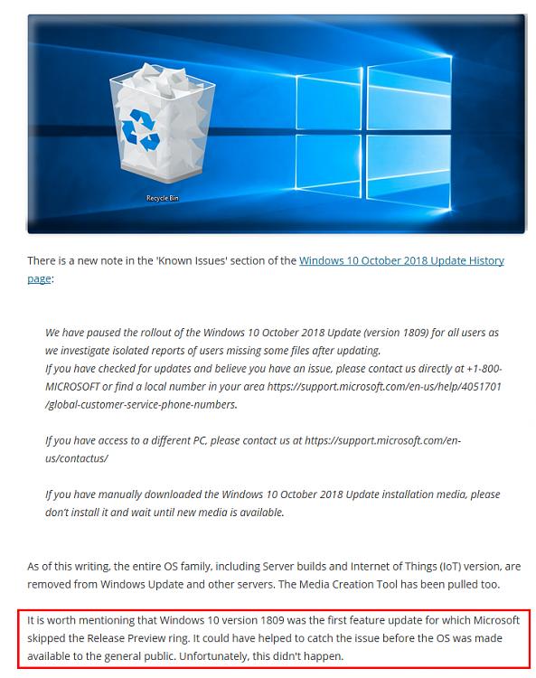 KB4467228 Windows 10 October 2018 Update Build 17763.17 to Insiders-iii.png