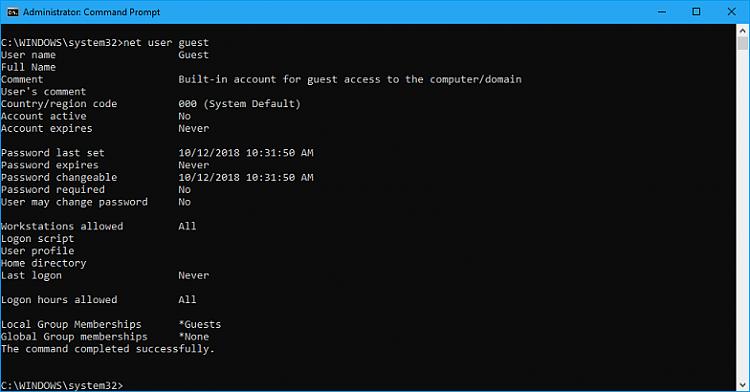 Cumulative Update KB4464330 Windows 10 v1809 Build 17763.55 - Oct. 9-capture.png