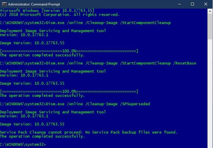 Microsoft needs to refocus on Windows 10 fundamentals - Mary Jo Foley-dism-1809.jpg