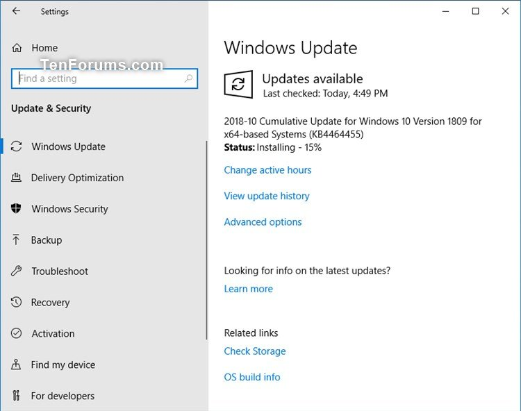 KB4464455 Windows 10 Insider Preview Slow + RP Build 17763.107 Oct. 30-kb4464455.jpg