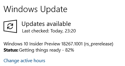 New Windows 10 Insider Preview Fast + Skip Build 18267 (19H1