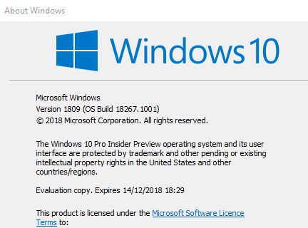 New Windows 10 Insider Preview Fast + Skip Build 18267 (19H1) Oct. 24-annotation.png