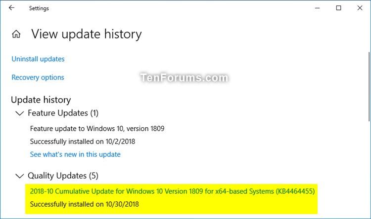 KB4464455 Windows 10 Insider Preview Slow + RP Build 17763.107 Oct. 30-kb4464455.jpg