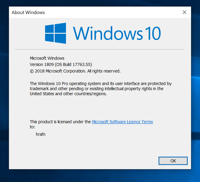KB4464455 Windows 10 Insider Preview Slow + RP Build 17763.107 Oct. 30-w.png