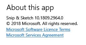 Cumulative Update KB4467708 Windows 10 v1809 Build 17763.134 - Nov. 13-snip-sketch-updated.png