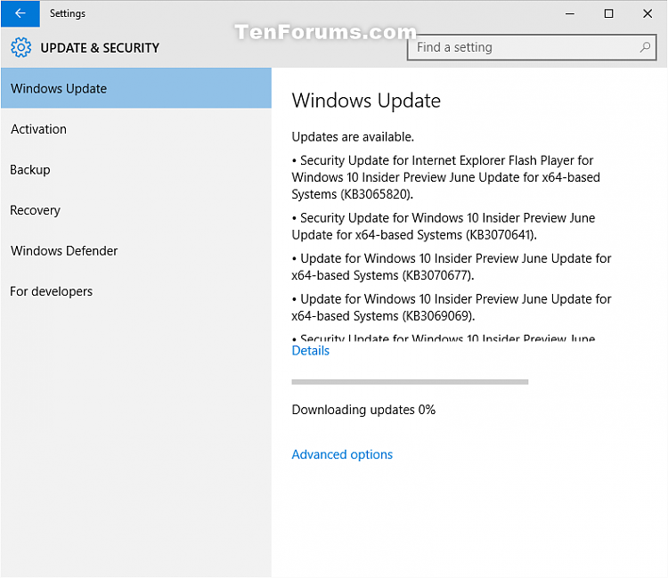 3 security updates and fix for Windows 10 PC build 10130 June 11th-updates-1.png