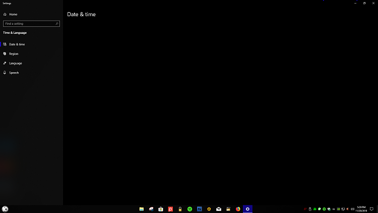 New Windows 10 Insider Preview Fast + Skip Build 18290 (19H1) -Nov. 28-date.png