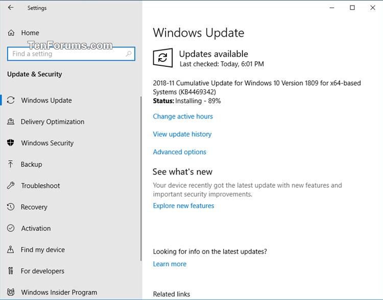 KB4469342 Windows 10 Insider RP v1809 Build 17763.168 - Dec. 3-kb4469342.jpg