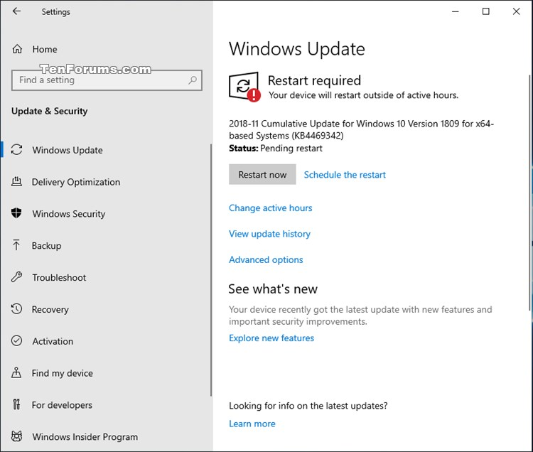 Cumulative Update KB4469342 Windows 10 v1809 Build 17763.168 - Dec. 5-kb4469342.jpg