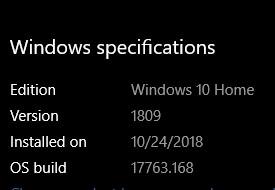 Cumulative Update KB4469342 Windows 10 v1809 Build 17763.168 - Dec. 5-annotation-2018-12-05-173713.jpg