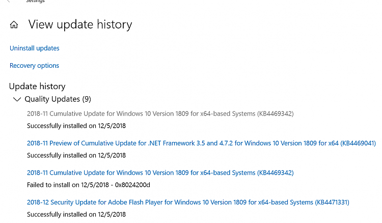 Cumulative Update KB4469342 Windows 10 v1809 Build 17763.168 - Dec. 5-2018-12-05_20h26_05.png