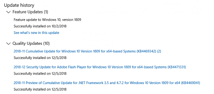 Cumulative Update KB4469342 Windows 10 v1809 Build 17763.168 - Dec. 5-scramjet04.png