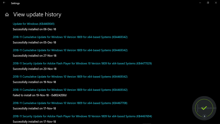 Cumulative Update KB4469342 Windows 10 v1809 Build 17763.168 - Dec. 5-2018-12-06-1-.png