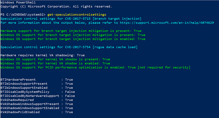 Mitigating Spectre variant 2 with Retpoline on Windows - Windows 10