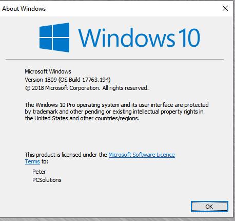 Cumulative Update KB4471332 Windows 10 v1809 Build 17763.194 - Dec. 11-capture.png