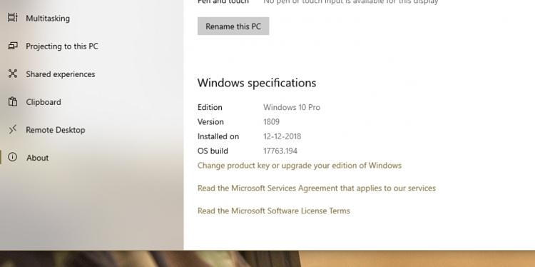 Cumulative Update KB4471332 Windows 10 v1809 Build 17763.194 - Dec. 11-untitled.png