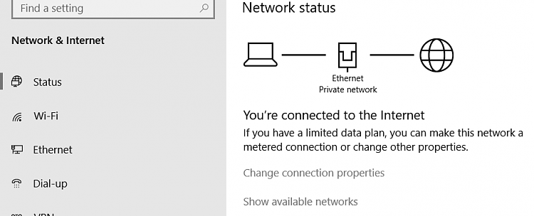 Current Status of Windows 10 October 2018 Update version 1809-internet-connection.png