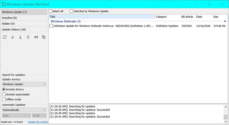 Current Status of Windows 10 October 2018 Update version 1809-2018-12-16_11h26_55.png
