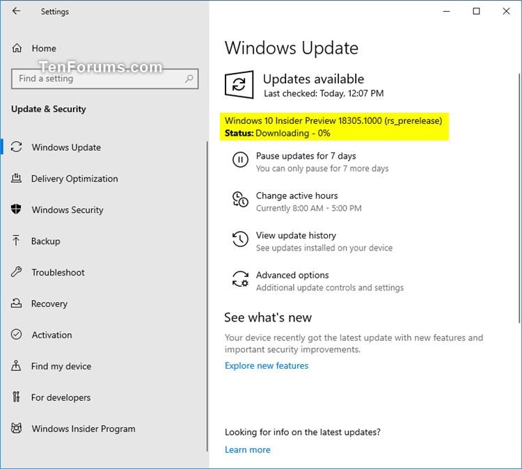 New Windows 10 Insider Preview Fast Build 18305.1003 (19H1) - Dec. 20-18305.jpg