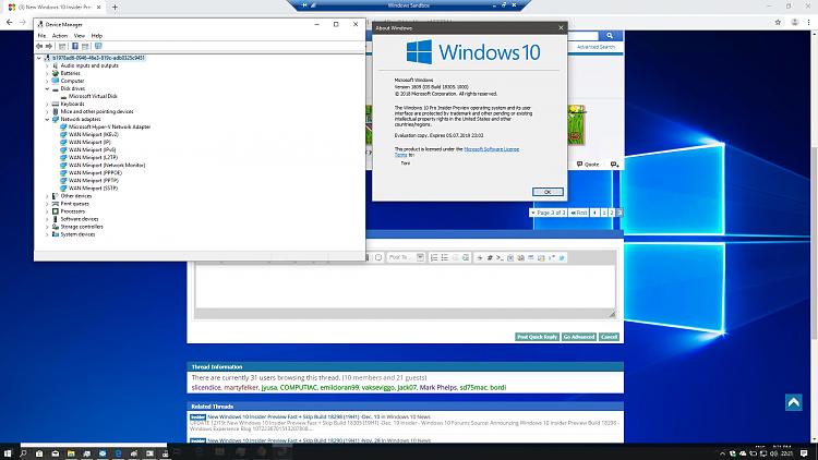 New Windows 10 Insider Preview Fast Build 18305.1003 (19H1) - Dec. 20-hello_sandbox.png