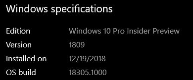 New Windows 10 Insider Preview Fast Build 18305.1003 (19H1) - Dec. 20-18305.jpg