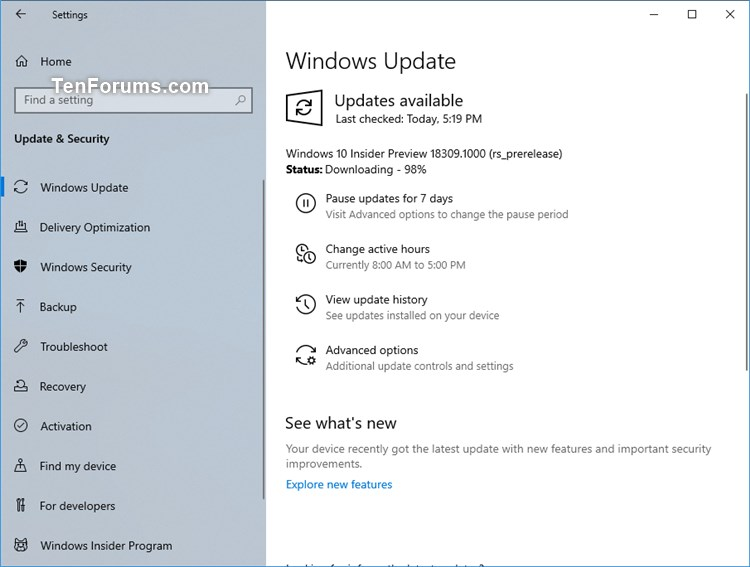 New Windows 10 Insider Preview Fast Build 18309 (19H1) - Jan. 3-18309.jpg
