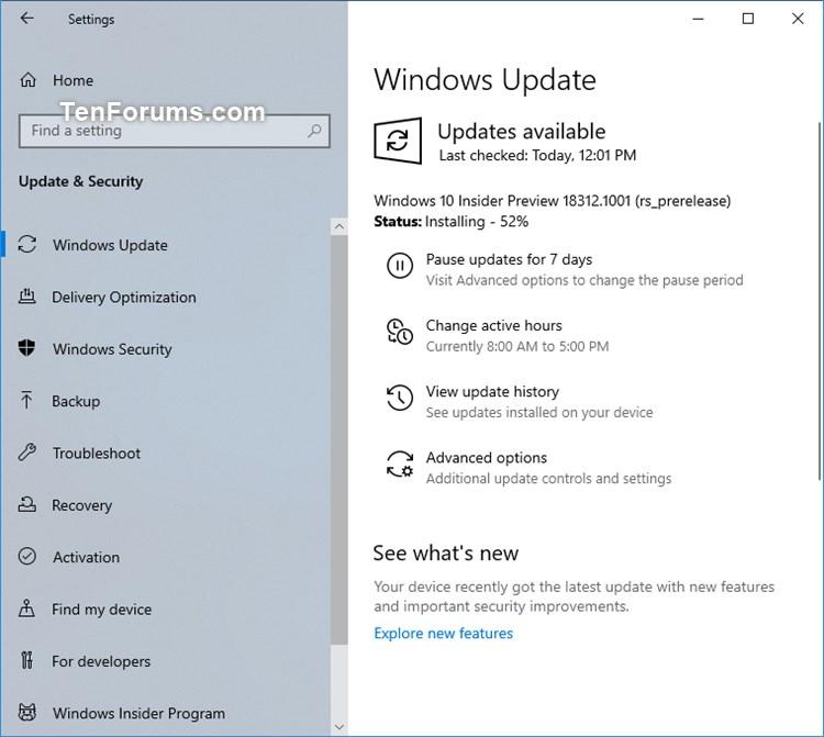 New Windows 10 Insider Preview Fast Build 18312 (19H1) - Jan. 9-18312.jpg