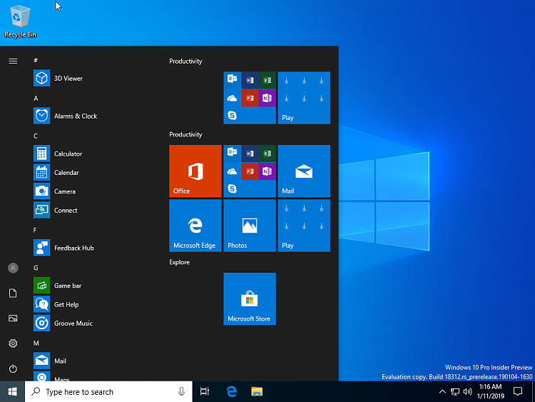Click image for larger version.  Name:VirtualBox_Windows 10 Insider Preview_11_01_2019_01_16_52.png Views:1 Size:195.6 KB ID:220544