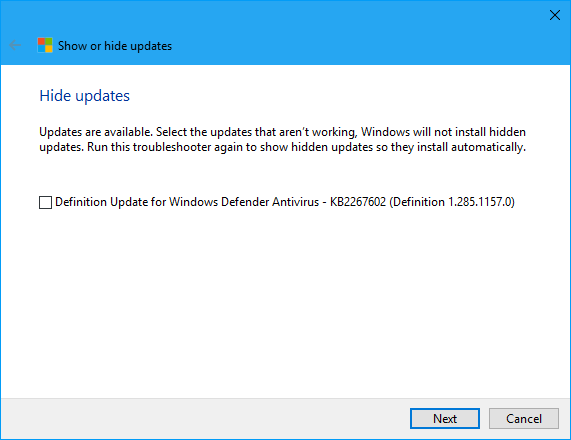 Current Status of Windows 10 October 2018 Update version 1809-new2.png