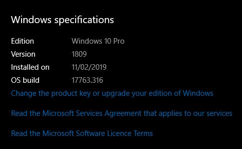 Current Status of Windows 10 October 2018 Update version 1809-17763.316-2.jpg