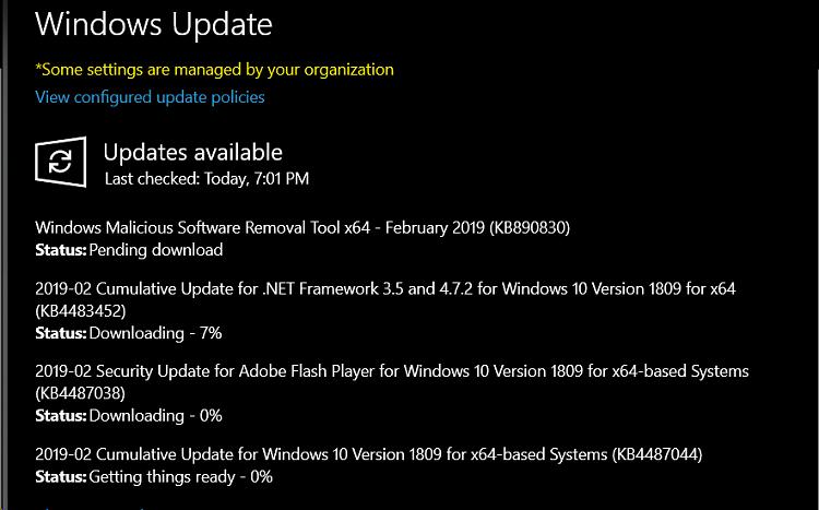 Cumulative Update KB4476976 Windows 10 v1809 Build 17763.292 - Jan. 22-image.png