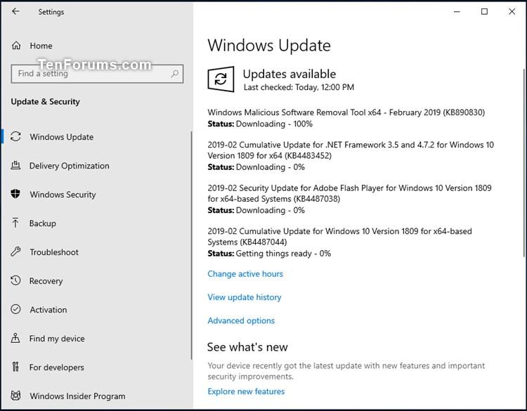 Cumulative Update KB4487044 Windows 10 v1809 Build 17763.316 - Feb. 12-kb4487044.jpg